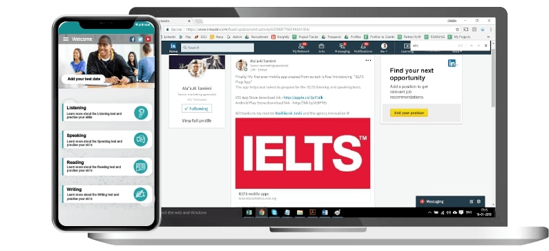 The IELTS Learning solution