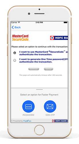 Custom Payment Browser