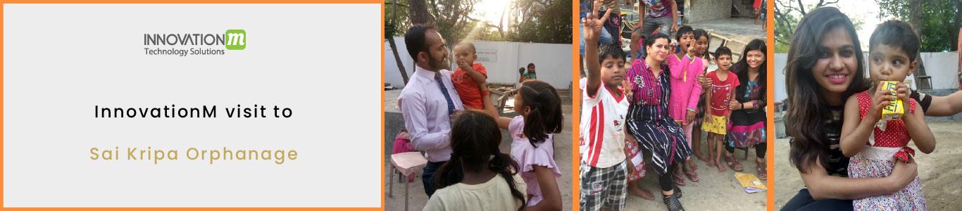 InnovationM visit to Sai Kripa Orphanage on 9th April 2019